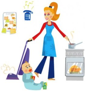 busy-mom-clipart