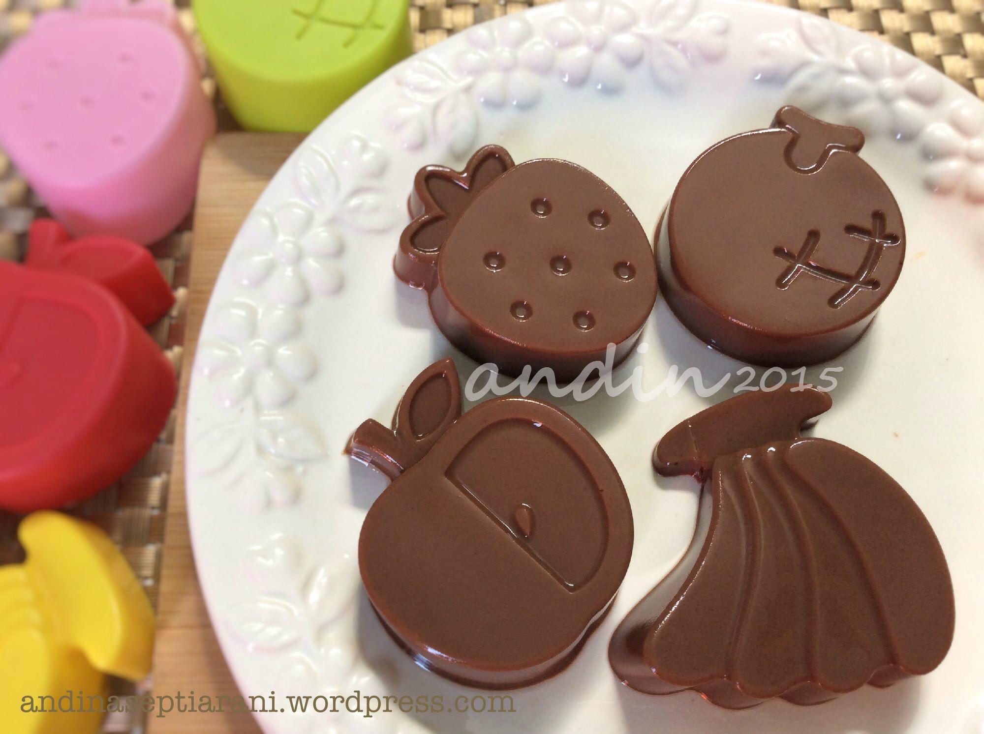Resep] Puding Coklat Saus Vla Susu | andinaseptiarani